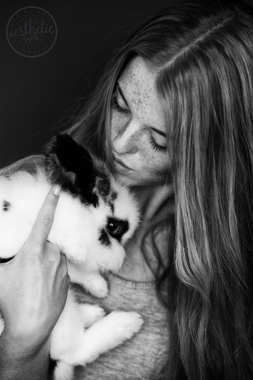Beauty Porträt Fotoshooting mit Lara Vogel