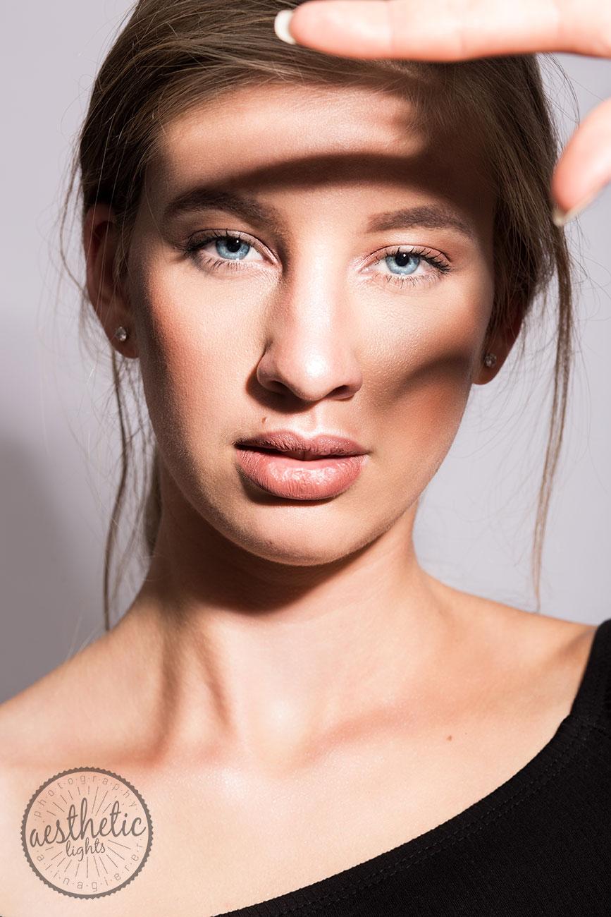 Beauty Porträt eines Models . Model Foto .
