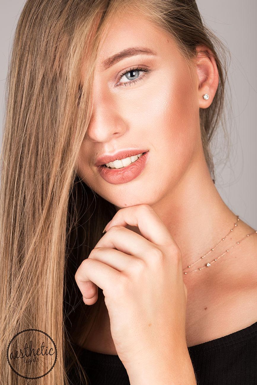 Beauty Porträt eines Models