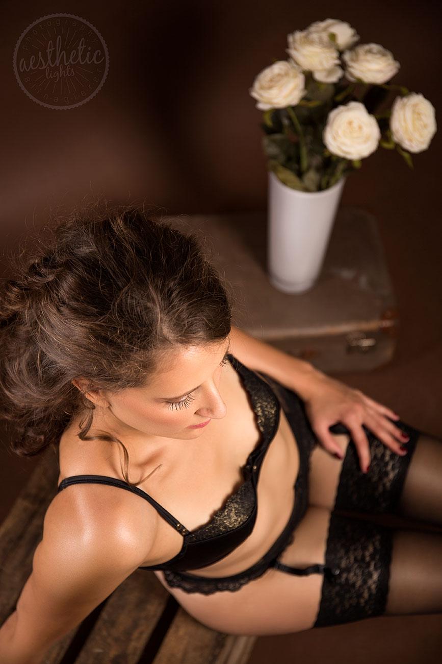 Stilvolles Boudoir Akt Erotik Fotoshooting