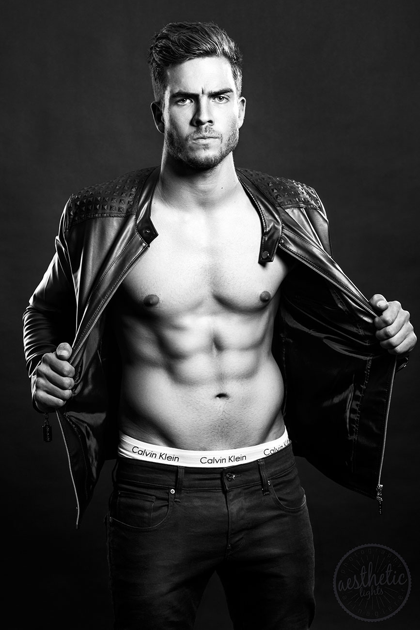 Fitness Fotoshooting mit 4. Mister Austria Martin